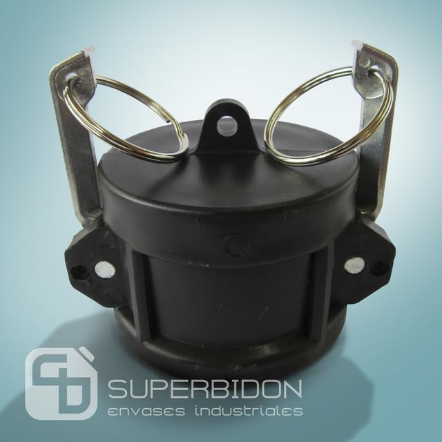 Tapa de seguridad para válvula de IBC camlock 2