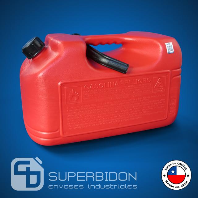 Bidón 20 litros plástico para Gasolina