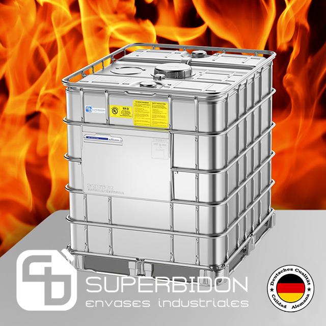 Estanque para combustible SX-D 1000 lts - NFPA 30