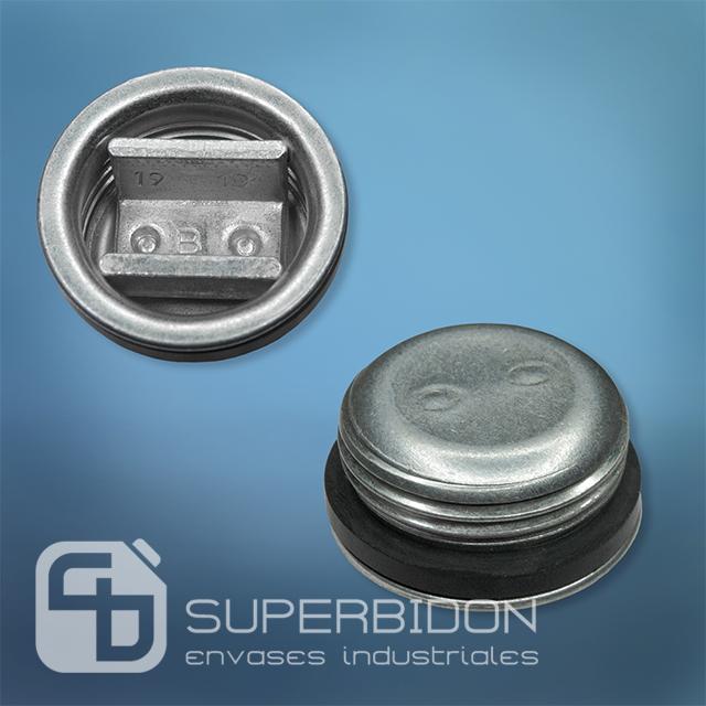 Tapa Tri-Sure para tambor metálico 3/4 pulgada