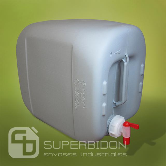 Bidón 30 litros con llave Aeroflow auto-ventilada