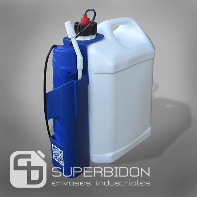 Atomizador pulverizador electrónico de uso doméstico + Bidón 5 lts