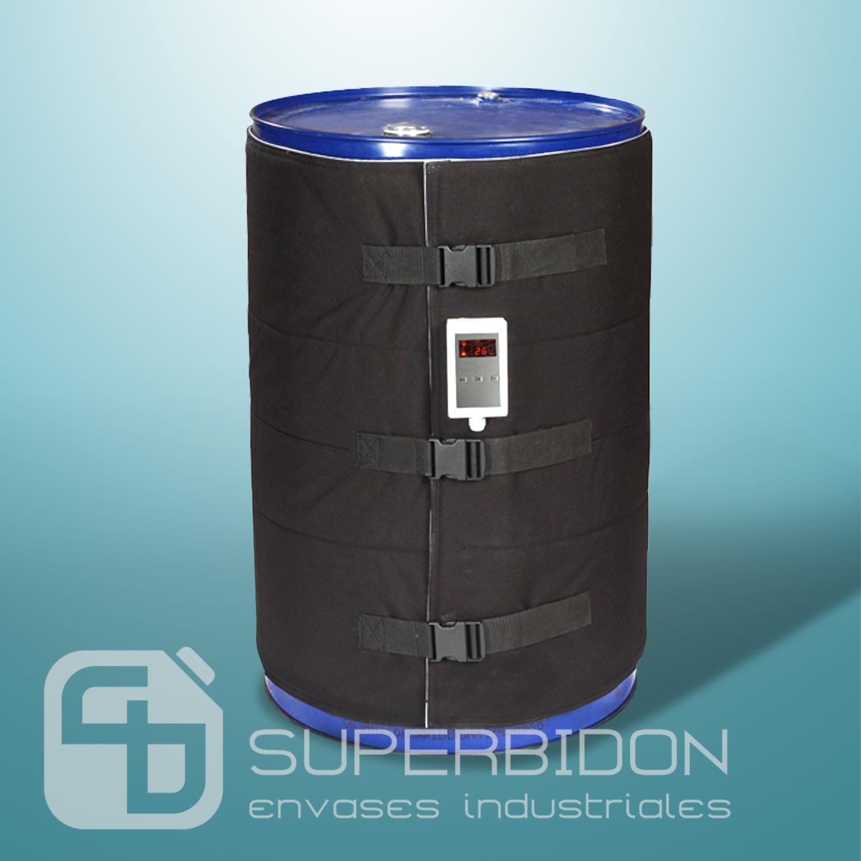 Manta calefactora para tambores de 200 litros