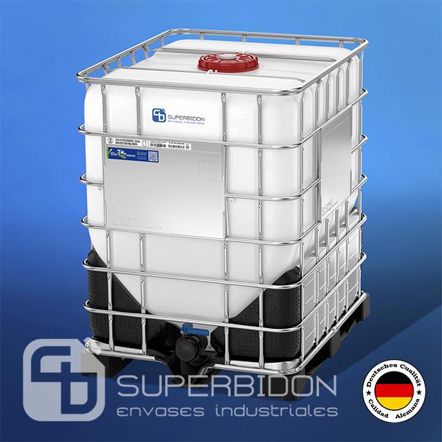 IBC cónico HX 1000 litros UN