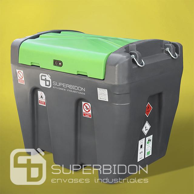 Estanque móvil para petróleo 900 litros